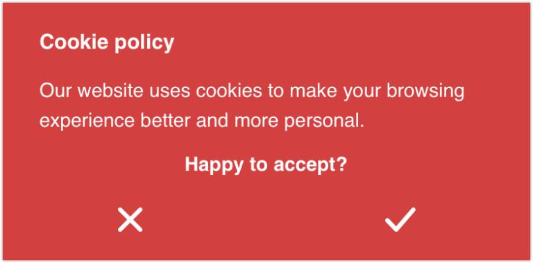 Opt-In Cookie Consent